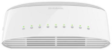D-LINK DGS‑1008D 8‑Port Gigabit Unmanaged Desktop Switch