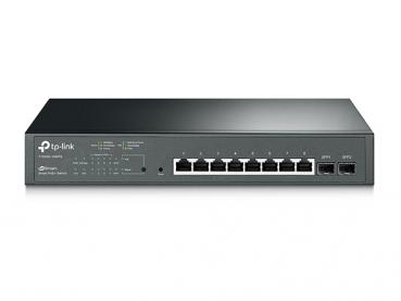 TP-LINK T1500G-10MPS JetStream-8-Port-Gigabit-Smart-PoE+-Switch mit 2 SFP-Slots