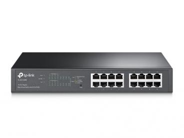 TP-LINK TL-SG1016PE 16-Port-Gigabit-Easy-Smart-PoE-Switch mit 8 PoE+-Ports