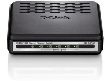 D-LINK GO‑SW‑5G 5‑Port Gigabit Easy Desktop Switch