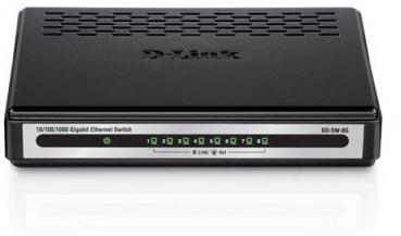 D-LINK GO‑SW‑8G/E 8‑Port Gigabit Easy Desktop Switch