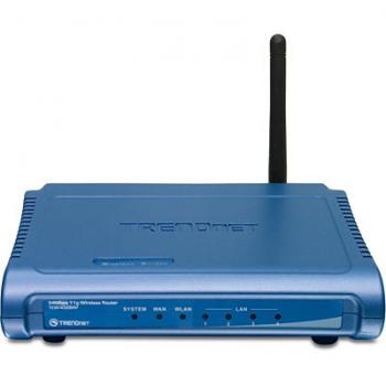TrendNET TEW-432BRP 54Mbps Wireless G Broadband Router