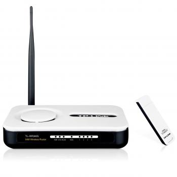 TP-LINK TL-WR54KIT 54Mbps Wireless G Router + USB WiFi Adapter Kit